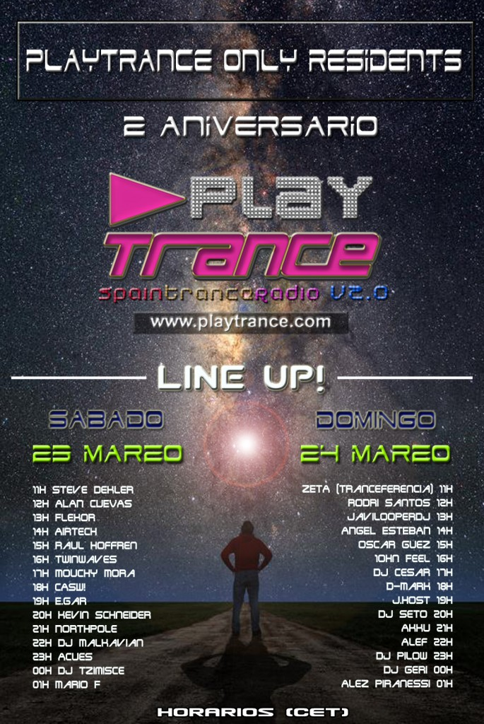 PlayTrance 2nd Anniversary Massive Radio-Event