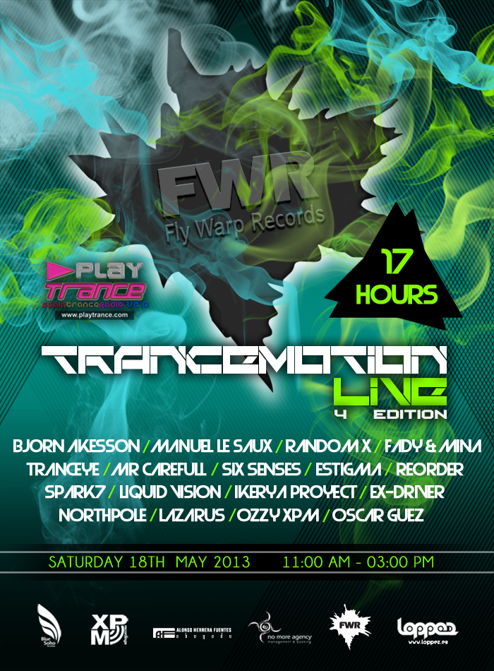 4th Trancemotion Live May 2013