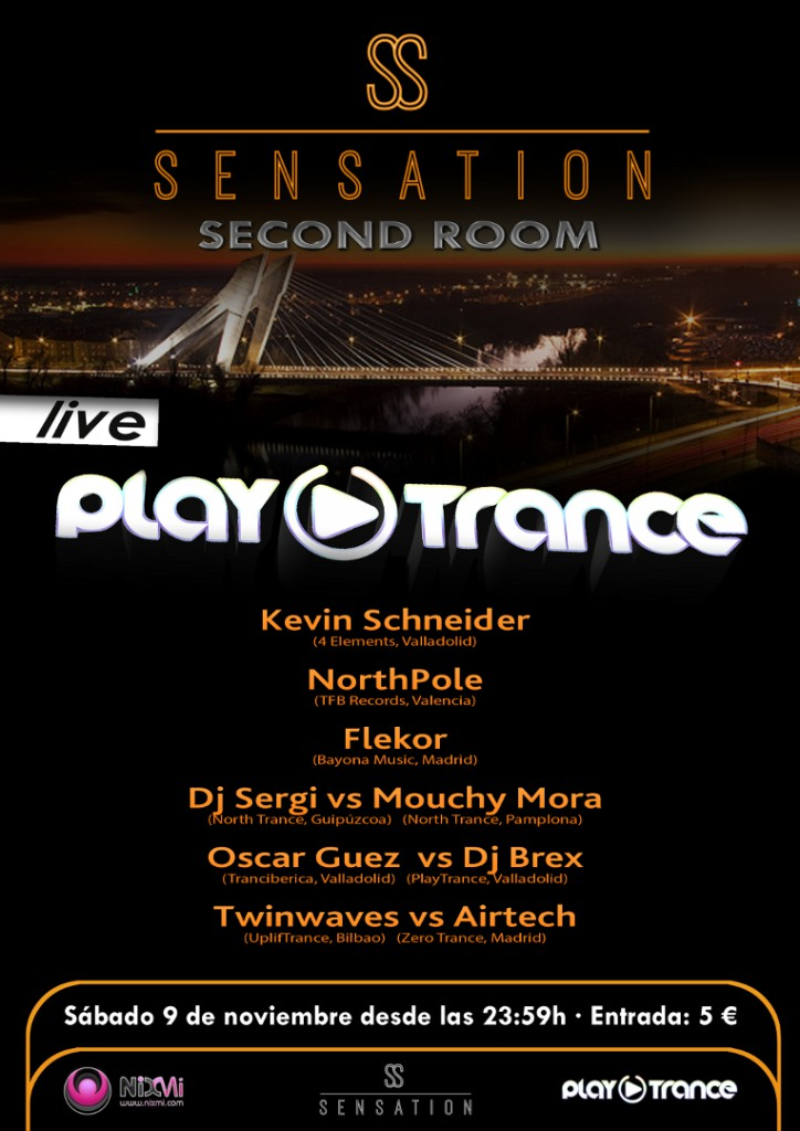 Cartel 09 nov 2013: PlayTrance Live