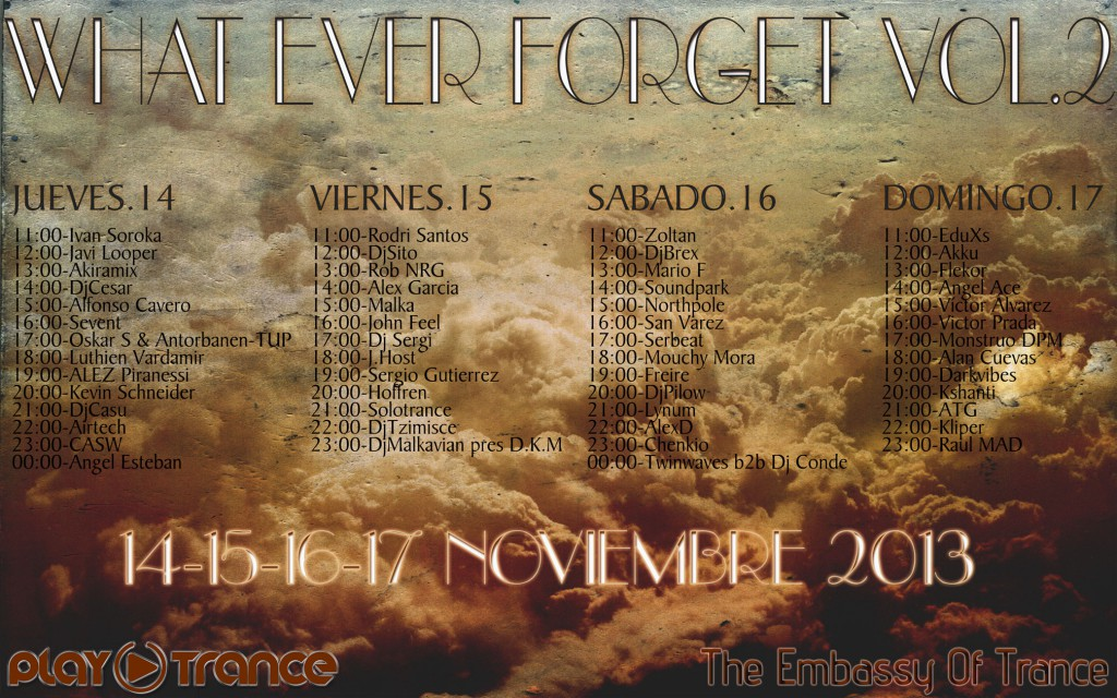 What Ever Forget Vol.2 Back