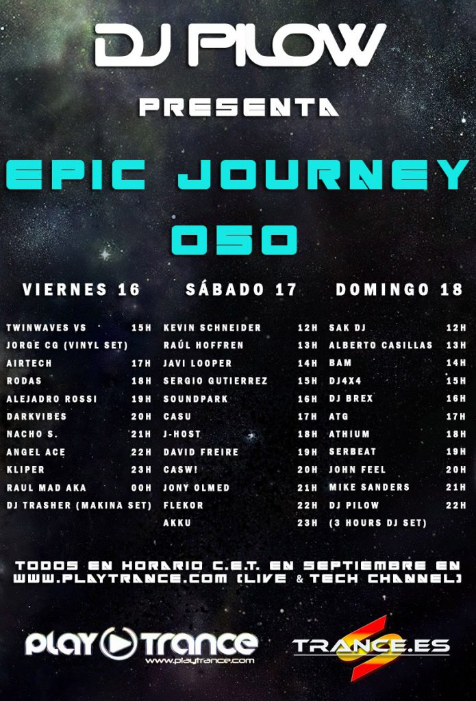 Epic Journey 050 event